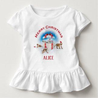 Camiseta Infantil Equipe presentes novos do Natal dos tigres | de