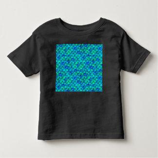 Camiseta Infantil Escalas do azul do Aqua
