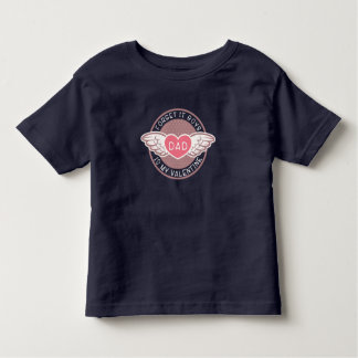 Camiseta Infantil Esqueça que pai dos meninos é meus namorados