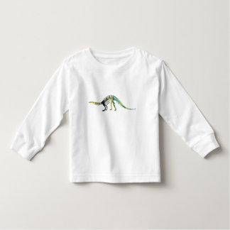 Camiseta Infantil Esqueleto do dinossauro