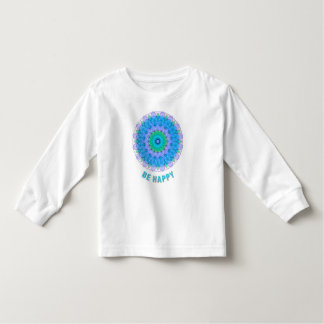 Camiseta Infantil Esteja feliz