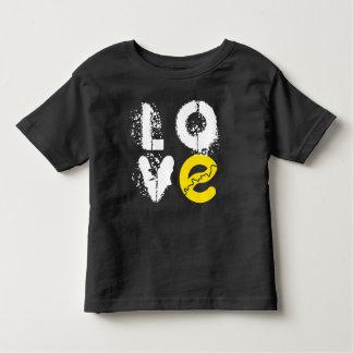 Camiseta Infantil Eu amo o Tshirt do bebê de Edmonton