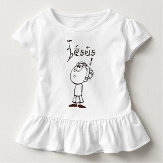 Camiseta Infantil Eu estarei contente e exultarei em Thee