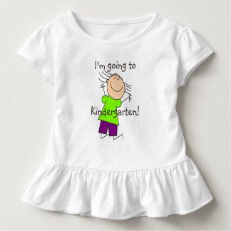 """Camiseta Infantil """"Eu estou indo ao jardim de infância """""""
