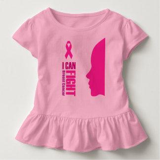 Camiseta Infantil Eu posso lutar mulheres do apoio ao cancer de mama