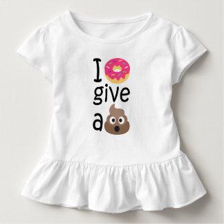 Camiseta Infantil Eu rosquinha dou um emoji do tombadilho