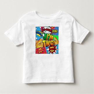 Camiseta Infantil Eu sou a banda desenhada dois