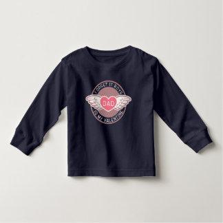 Camiseta Infantil Eu sou pesaroso que pai dos meninos são meus