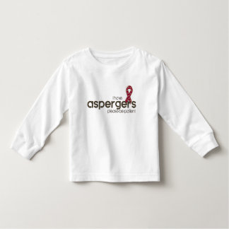 Camiseta Infantil Eu tenho Aspergers