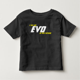 Camiseta Infantil Eu ver um EVO em meu futuro