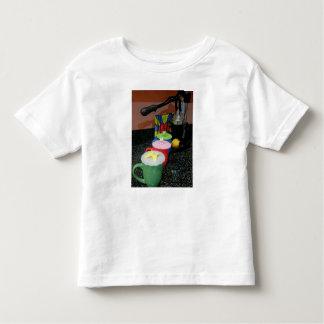Camiseta Infantil Exposição do chá de Chai