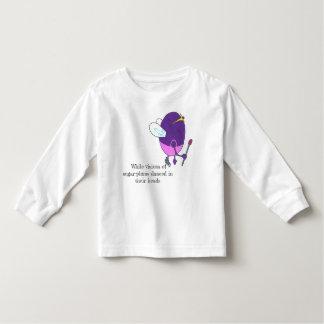 Camiseta Infantil Fada da ameixa do açúcar