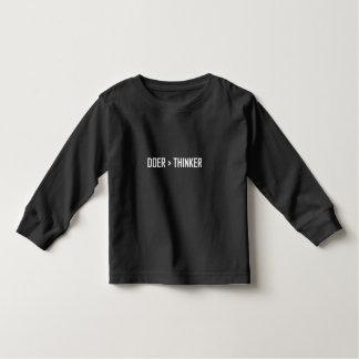 Camiseta Infantil Fazedor maior do que o pensador