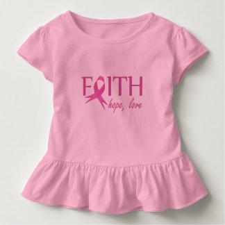 Camiseta Infantil Fé, esperança, amor