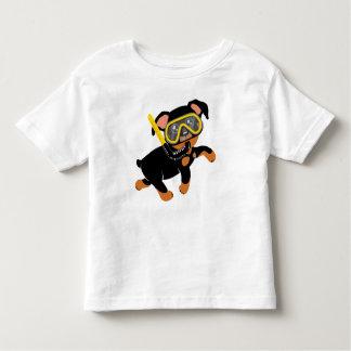 Camiseta Infantil Feito-à-medida para o Pin do minuto da natação de