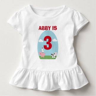 Camiseta Infantil Festança do Barnyard