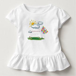 Camiseta Infantil Fez tudo bonito em seu tempo
