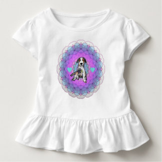 Camiseta Infantil Filhote de cachorro doce