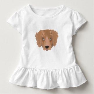 Camiseta Infantil Filhote de cachorro insolente bonito