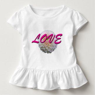 Camiseta Infantil Flor do amor