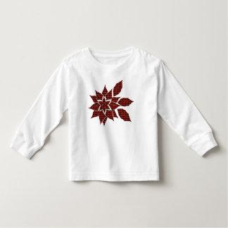 Camiseta Infantil Flor do Tartan