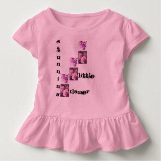 Camiseta Infantil flor impressionante