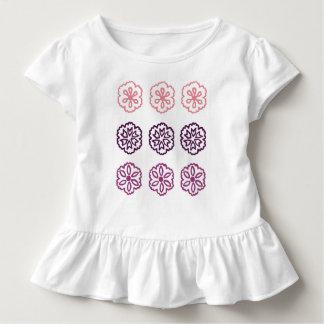 Camiseta Infantil Flores doces