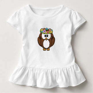 Camiseta Infantil Flores dos pássaros