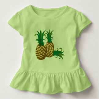 Camiseta Infantil fruta de três abacaxis