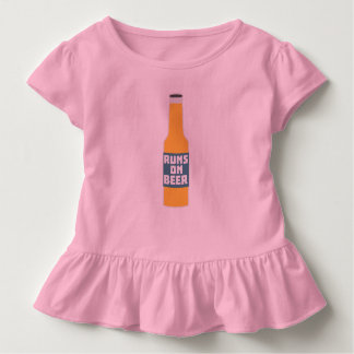 Camiseta Infantil Funcionamentos na garrafa de cerveja Zcy3l