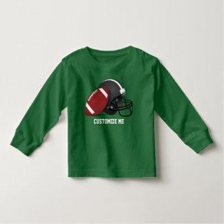Camiseta Infantil Futebol e capacete