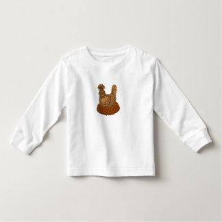 Camiseta Infantil Galinha