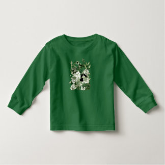 Camiseta Infantil Gatinhos nos Wildflowers