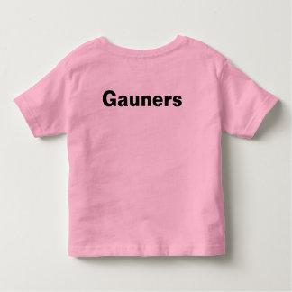 Camiseta Infantil gauners na parte superior