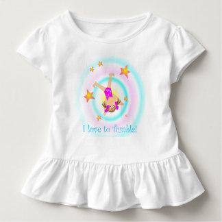 Camiseta Infantil Ginástica - amor de I a cair!