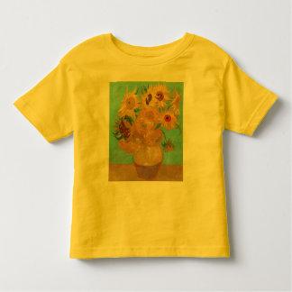 Camiseta Infantil Girassóis por Van Gogh