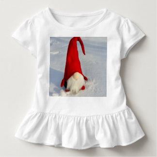 Camiseta Infantil Gnomo escandinavo do Natal