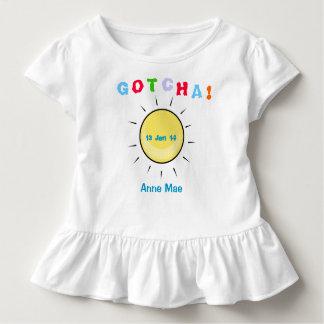 Camiseta Infantil Gotcha dia - design da adopção