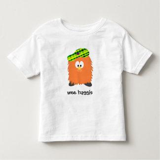 Camiseta Infantil Haggis peludo