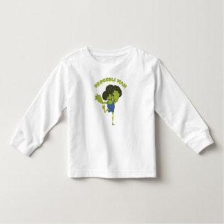Camiseta Infantil Homem dos brócolos