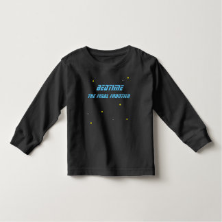 Camiseta Infantil Horas de dormir a parte superior final da