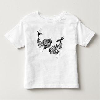 Camiseta Infantil Horóscopo dos peixes, zodíaco, peixes