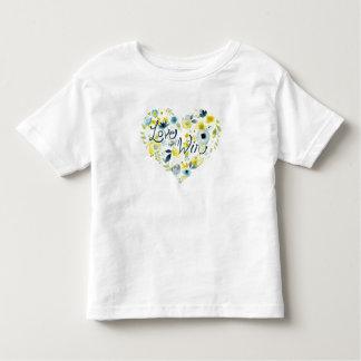 Camiseta Infantil II floral sentido