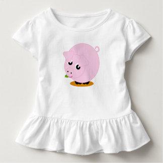 Camiseta Infantil Ilustração bonito do estilo dos desenhos animados