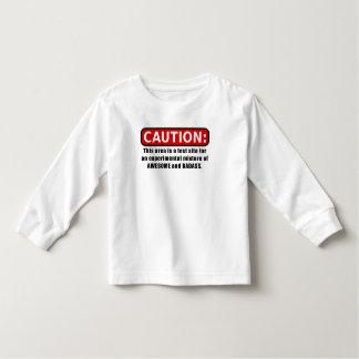 Camiseta Infantil Impressionante e Badass