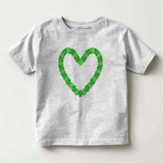 Camiseta Infantil Irlandês na criança T do coração