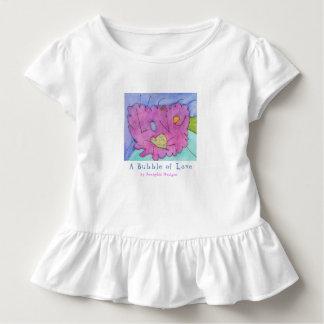 Camiseta Infantil JennyLU projeta a bolha de miúdos do Tshirt do