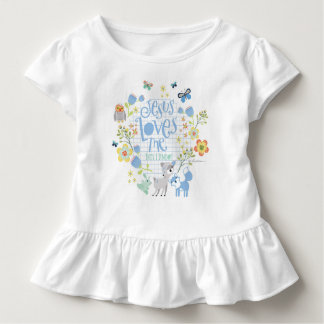 Camiseta Infantil Jesus ama-me isto que eu sei o Bodysuit infantil