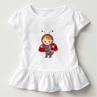 Camiseta Infantil Joaninhas