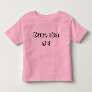 Camiseta Infantil Kuzynka #2